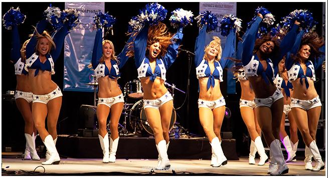 Dallas Cowbows Cheerleaders